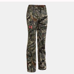 Under Armour mossy Oak pants camouflage women's